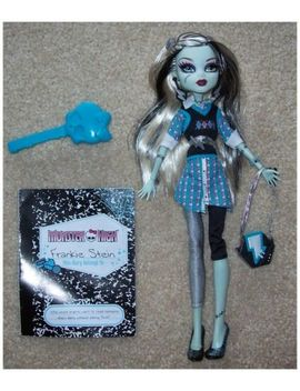 Monster High Doll Frankie Stein Diary 2 Nd Series 2010 And Accessories by Monster High