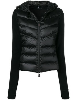 Knitted Sleeve Puffer Jacket by Moncler Grenoble