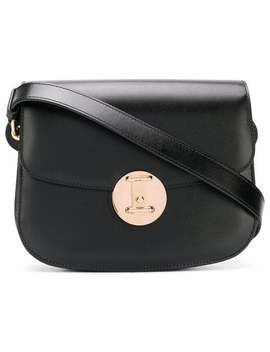 Small Round Lock Shoulder Bag by Calvin Klein 205 W39nyc