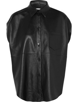 Leather Shirt by Mm6 Maison Margiela