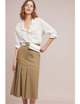 Utility Midi Skirt by Caara