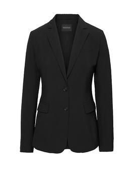 Long And Lean Fit Washable Italian Wool Blend Blazer by Banana Repbulic