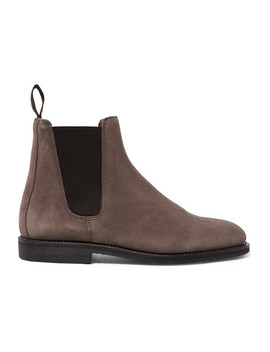 Suede Chelsea Boots by Ludwig Reiter