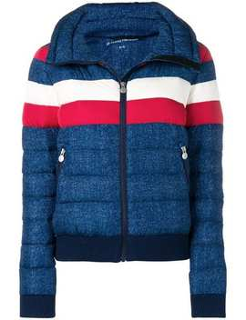 Queenie Denim Puffer Jacket by Perfect Moment
