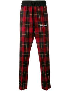 Pantaloni Sportivi Tartan by Palm Angels