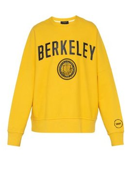 Berkeley Print Cotton Sweatshirt by Calvin Klein 205 W39 Nyc