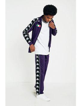Kappa Banda Astoria Purple Track Pants by Kappa