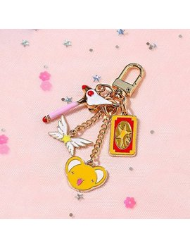 Cardcaptor Sakura Keychain / Key Ring / Air Pods Key Ring / Key Chain / Accessories / Gift For Women / Gift For Her / School Supplies by Etsy