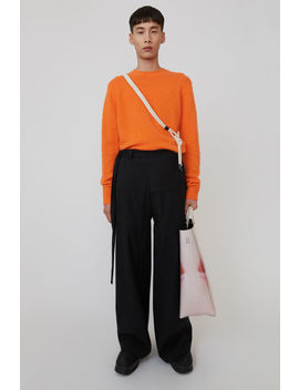 Wide Legged Trousers Black by Acne Studios