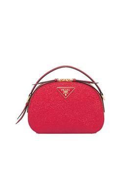 Prada Odette Saffiano Leather Bag by Prada