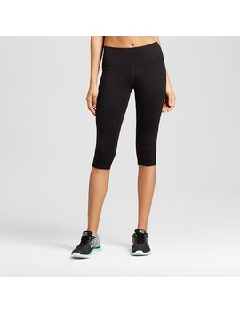 """Women's Everyday Mid Rise Knee Tights 17""""   C9 Champion® Black by C9 Champion®"""