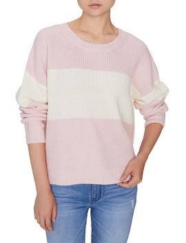Billie Colorblock Shaker Sweater by Sanctuary