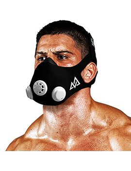 Training Mask 2.0 [Original Black Medium] Elevation Training Mask, Fitness Mask, Workout Mask, Running Mask, Breathing Mask, Resistance Mask, Elevation Mask, Cardio Mask,... by Trainingmask