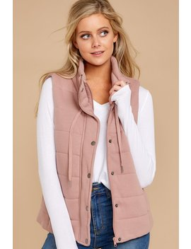 There's A Difference Mauve Vest by Staccato