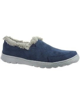 Danskin Now Women's Faux Fur Athletic Slip On Shoe by Danskin Now
