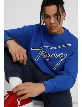 Signature Crew   Sweatshirt by Tommy Jeans