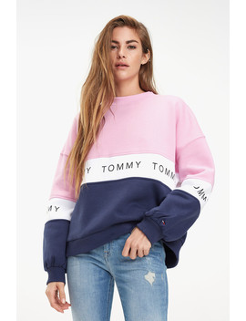 Tjw Colorblock Sweatshirt by Tommy Jeans