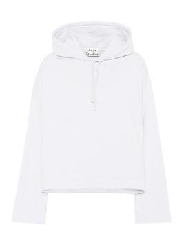 Sweat Shirt En Coton à Capuche by Acne Studios