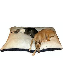 Kosi Pet® Extra Large Budget Economy Fibre Cushion White Sherpa Dog Bed,Beds by Ebay Seller