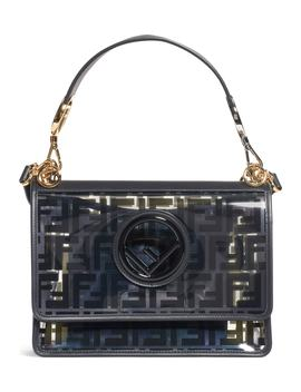 Kan I Logo Transparent Shoulder Bag by Fendi
