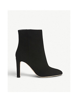 Edelle Suede Ankle Boots by Lk Bennett