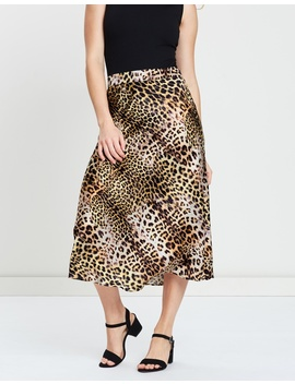 Iconic Exclusive   Khloe Midi Skirt by Atmos&Here