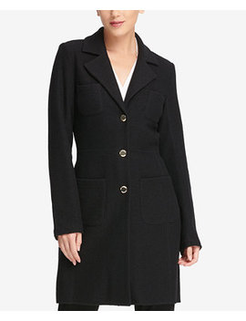 Four Pocket Duster Jacket, Created For Macy's by Dkny