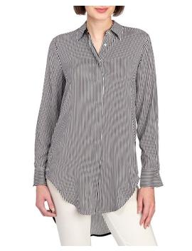 Striped Dropped Back Shirt 						Striped Dropped Back Shirt by Philosophy 						Philosophy