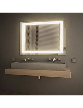 Get In Light Led Wall Mounted Lighted Vanity Mirror, 3000 K(Soft White), Etl Listed, Damp Location Rated, In 0405 3 30 36 3 K by Get In Light
