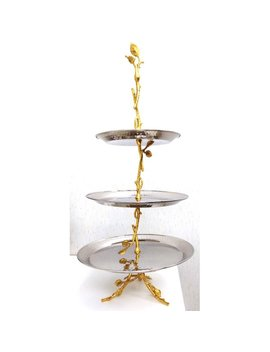 Heim Concept Glift Leaf 3 Tier Serving Tray by Heim Concept
