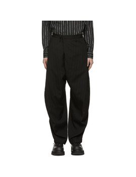 Black Wide Trousers by Julius