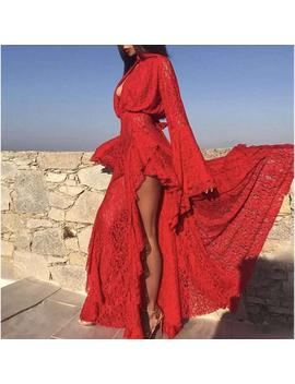 Tahiti Dress   Red by Want My Look