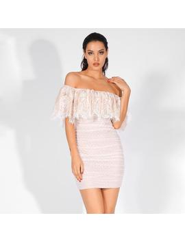 Bebe Dress   White by Want My Look