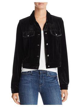 Velvet Jacket   100 Percents Exclusive by Aqua