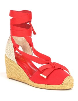 Hollie Espadrille Wedges by Lauren Ralph Lauren