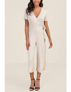Sophia Ribbed Jumpsuit by Francesca's