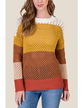Ava Ombre Pullover Sweater by Francesca's