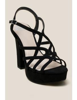 Fergalicious Priscella Platform Heel by Francesca's