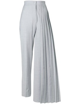 Pleated Detail Trousers by Seen Users