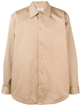 Minimal Military Shirt by Acne Studios