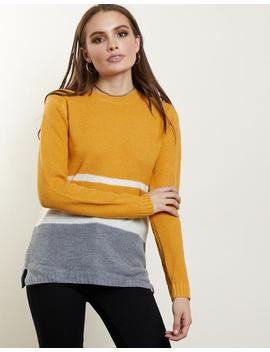 Aria Colorblock Sweater by 2020 Ave