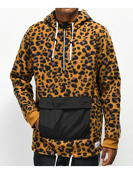 Empyre Sport Leopard Anorak Fleece Jacket by Empyre