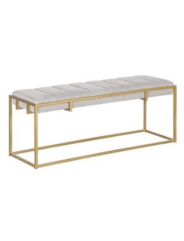 Tommy Hilfiger Ellery Metal Bench by Tommy Hilfiger