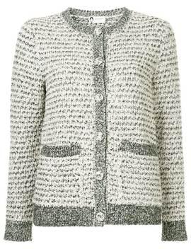 Buttoned Bouclé Cardigan by Lanvin