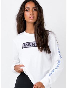 Vans New Flag Tee White by Vans