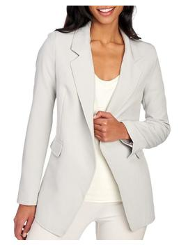 Crepe Open Front Blazer 						Crepe Open Front Blazer by Jones New York Signature 						Jones New York Signature