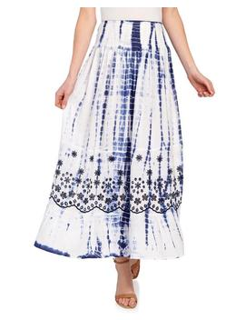 Tie Dye Eyelet Maxi Skirt 						Tie Dye Eyelet Maxi Skirt by Studio West Apparel 						Studio West Apparel