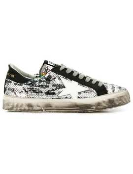 Superstar Sequinned Sneakers by Golden Goose Deluxe Brand