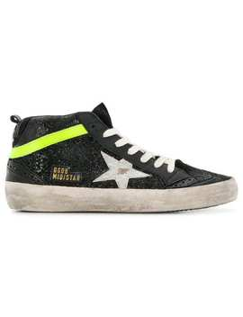 Mid Star Hi Top Sneakers by Golden Goose Deluxe Brand