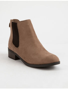 City Classified Keyword Womens Booties by Soda
